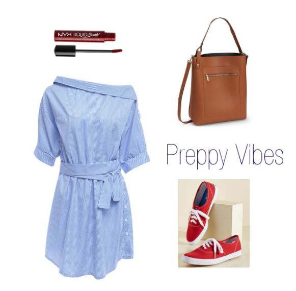 Preppy outfit for the fourth of july