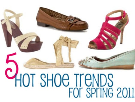 5 Hot Shoe Trends for Spring 2011