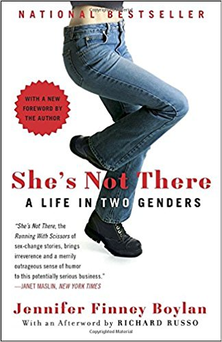 She's Not There, A Life in Two Genders by Jennifer Finney Boylan book cover
