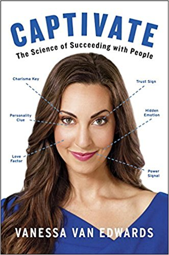 Captivate the science of succeeding with people book cover