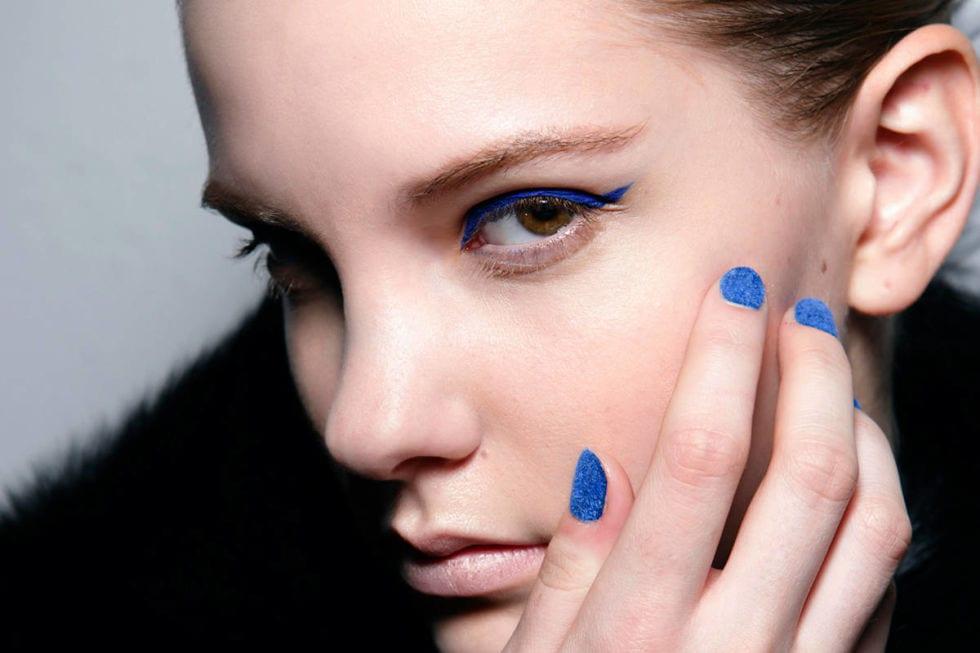 header nail polish model