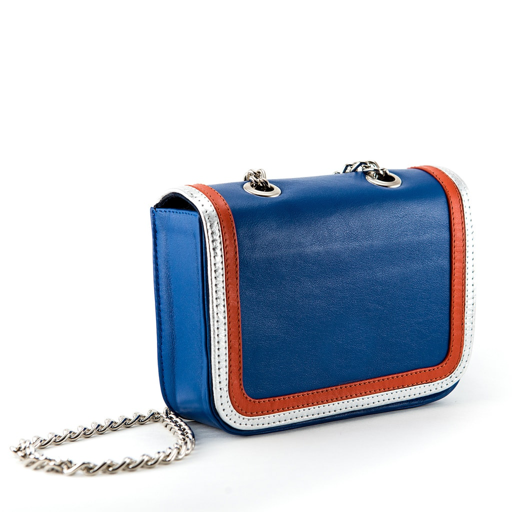 Red, white and blue Lauren Farrell gameday bag
