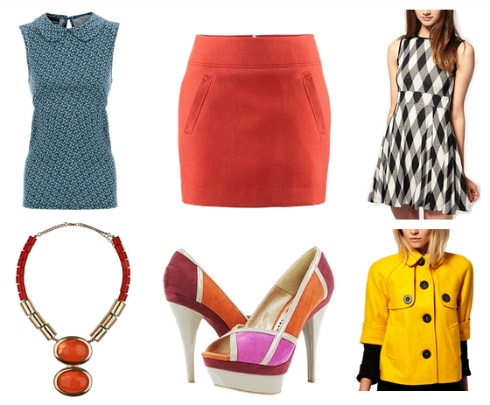 60s mod inspired pieces