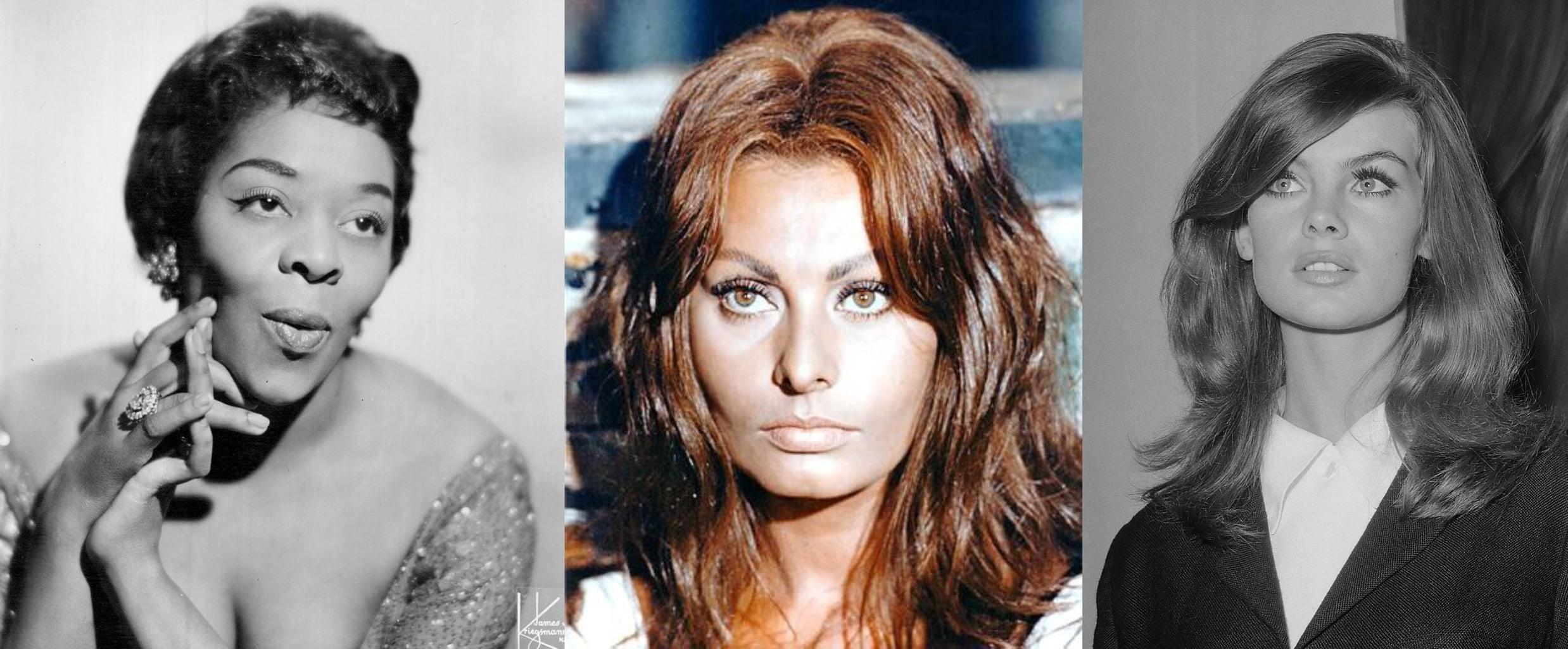 eyebrow trends 1960s