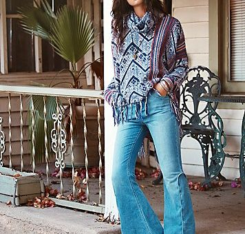 free people 70s flares ad