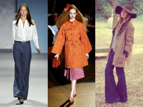 70s-inspired spring looks
