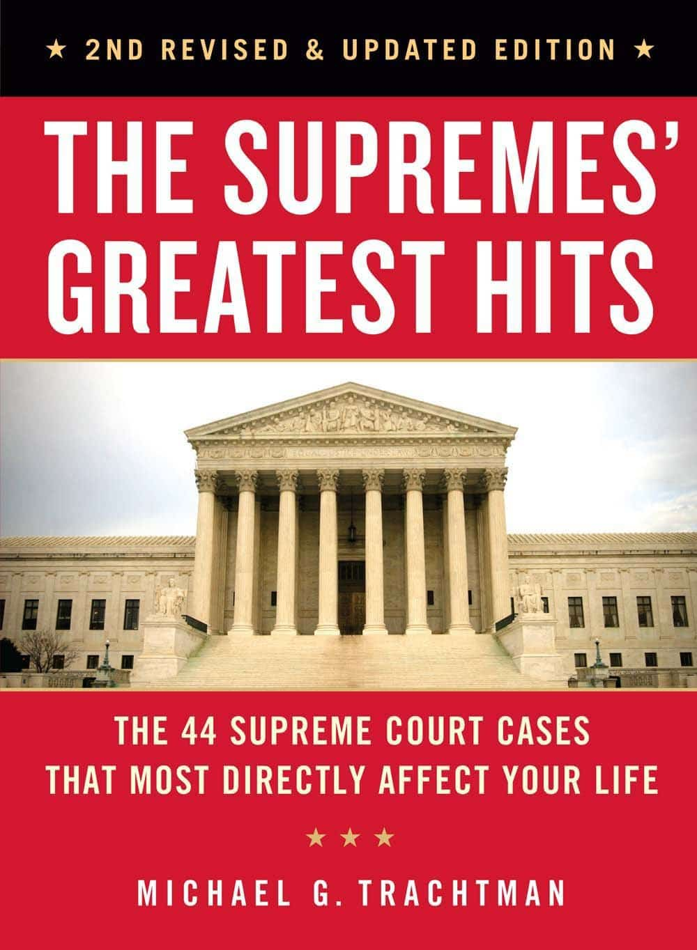 The Supreme Court's Greatest Hits book cover - best books for college students