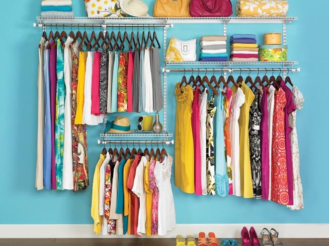 closet organization by type