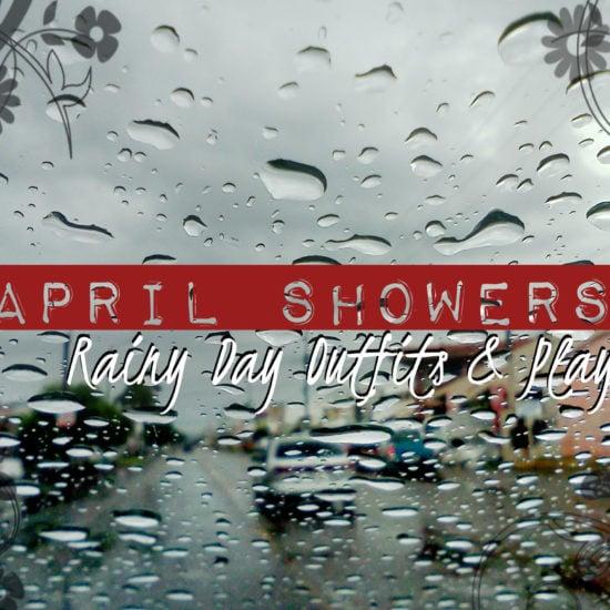 Rainy day through windshield