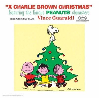 A Charlie Brown Christmas album cover