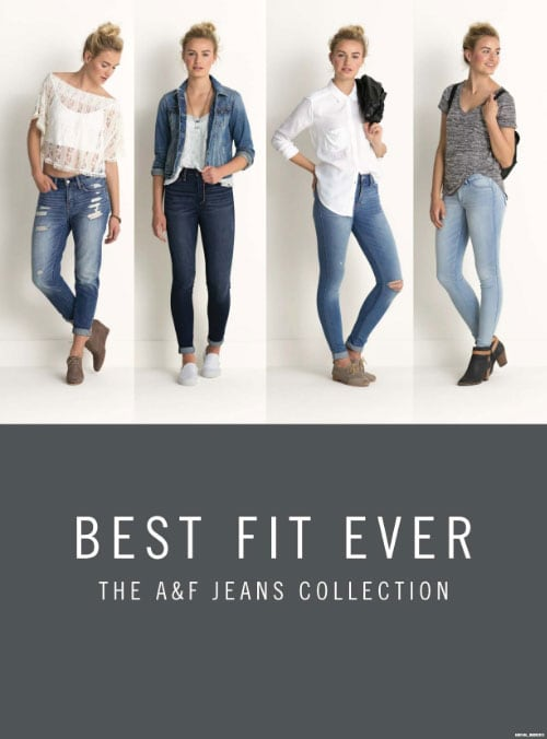 A f jeans collection