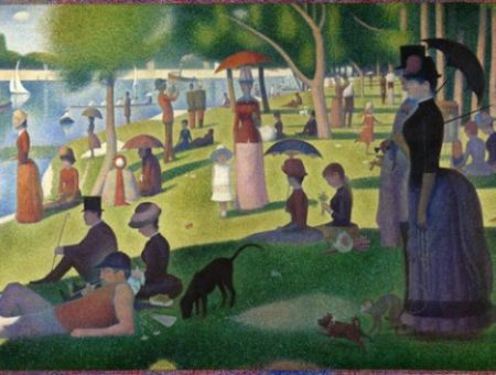 A sunday on la grande jatte georges seurat 1884 small