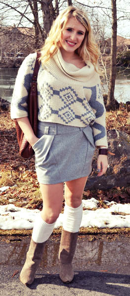 Abbie, a student at Gonzaga University showing off her college student street style