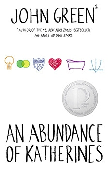 John Green - An Abundance of Katherines book cover