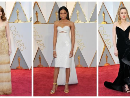 2017 Academy Awards red carpet fashion