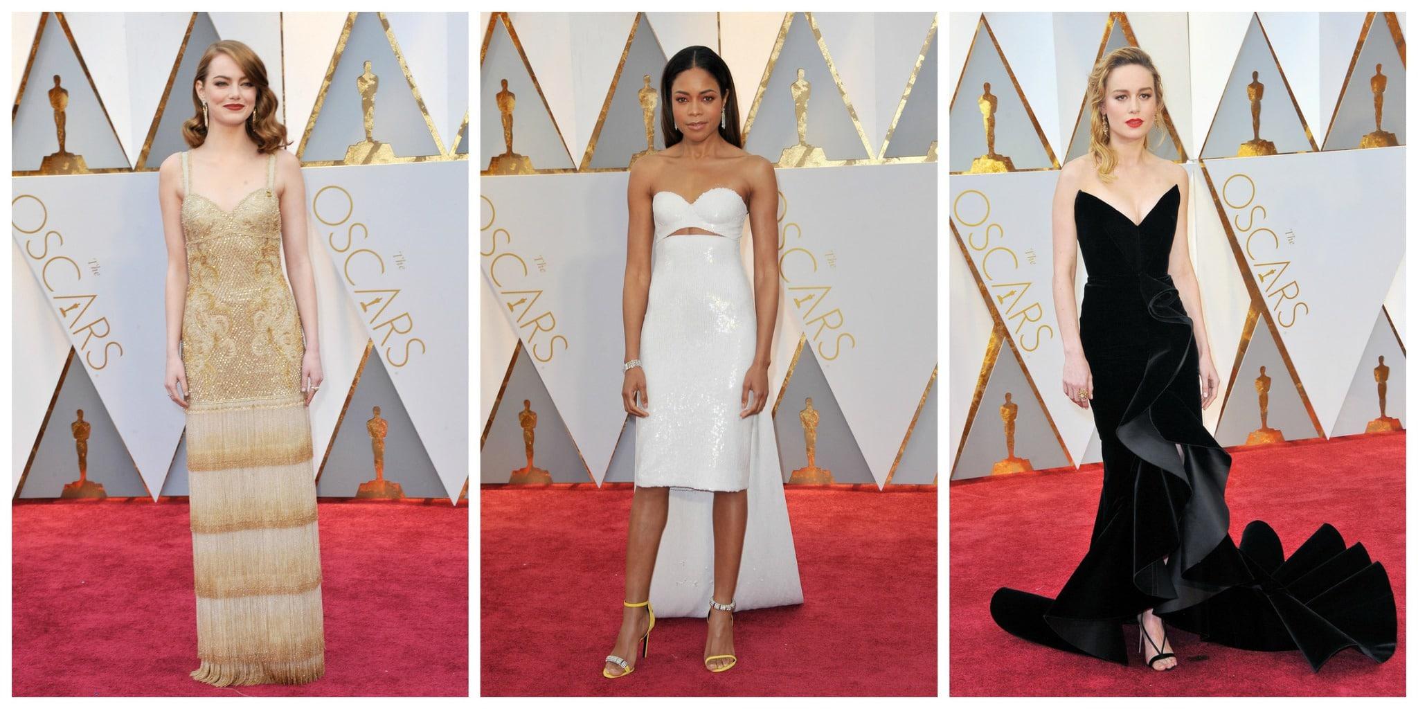 2017 Academy Awards red carpet fashion