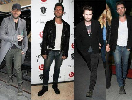 Fashion inspiration: Adam Levine