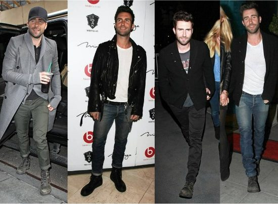 Fashion inspiration: Adam Levine