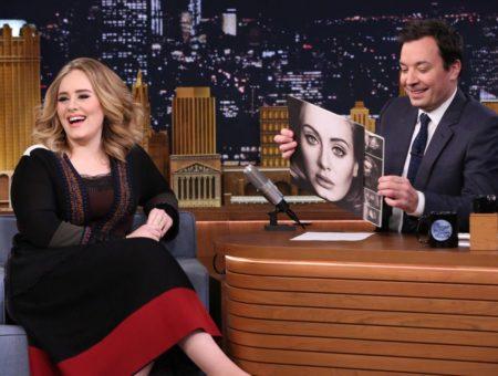 Adele on Jimmy Fallon