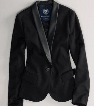 AE tuxedo blazer