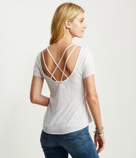 Aeropostale strappy back tee