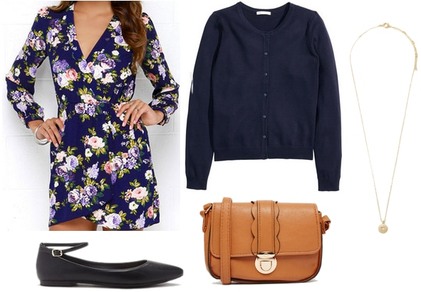 Age of Adaline Floral Outfit