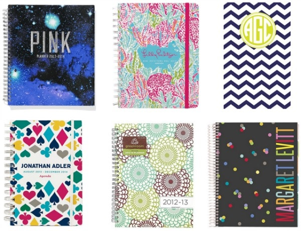 Planners for college