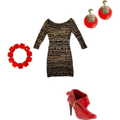 Agyness Deyn Outfit