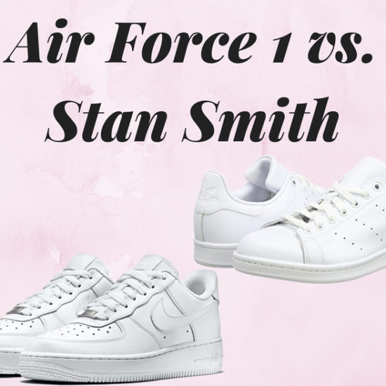 Battle of the white sneakers: Nike Air Force 1 vs Adidas Stan Smith -- which sneaker is better?