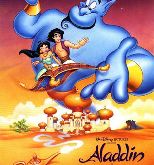 Walt Disney's Aladdin movie poster