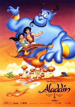 Walt Disney's Aladdin movie poster
