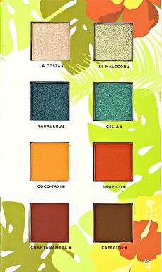 Alamar Cosmetics Reina Del Caribe Vol. 1 Palette