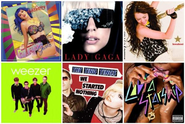 Playlist album covers