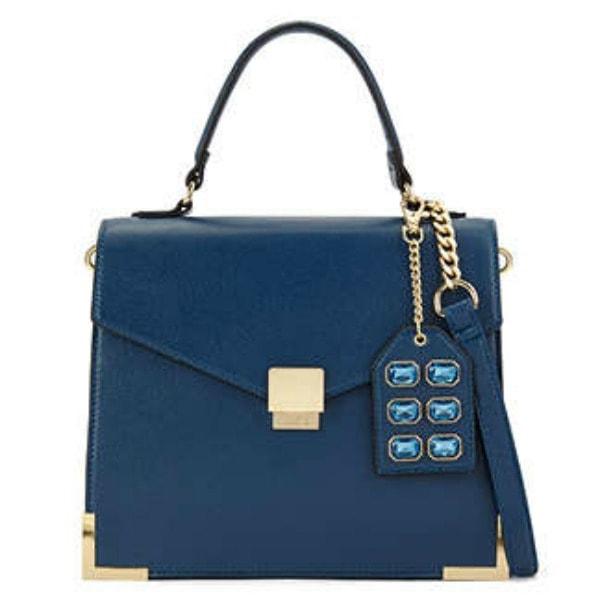 Aldo sanctis satchel in blue