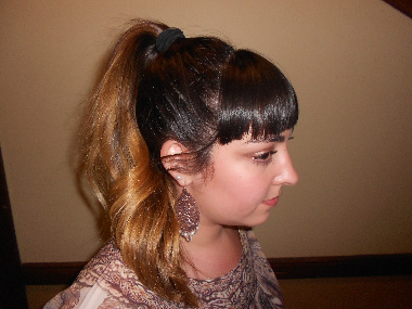 Fashion trend at Oregon State University: Ombre hair