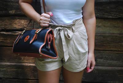 Alexa - High Waisted Shorts