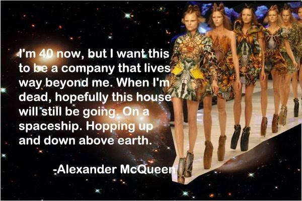 Alexander McQueen Spring 2010