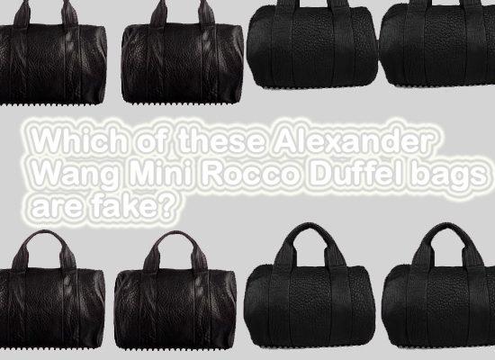 Alexander Wang Mini Rocco Duffel-Bag