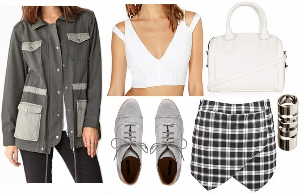 Alexander wang spring 2014 inspired outfit