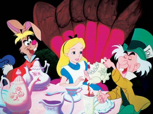 Fashion inspiration: Disney's Alice in Wonderland Mad Tea Party