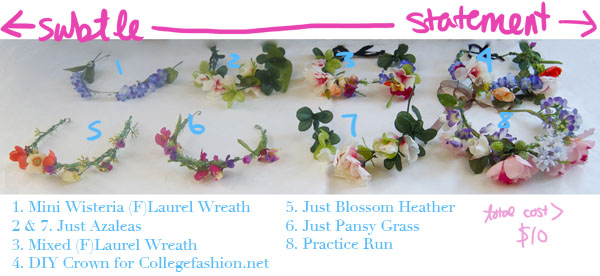 All the DIY Floral Crowns