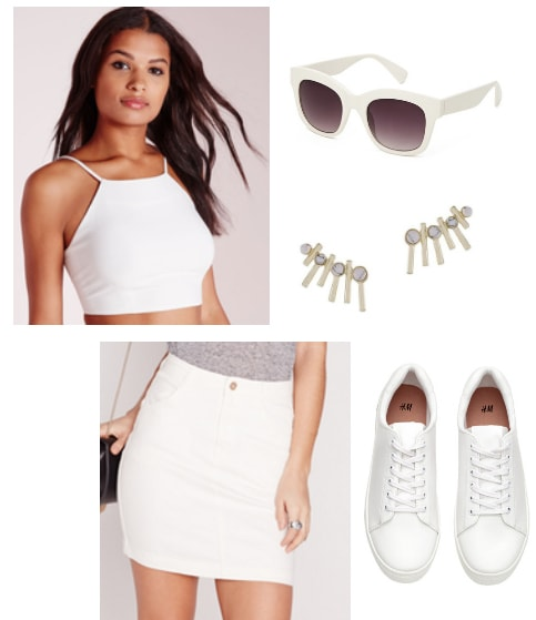 all white summer outfit inspired by free people