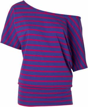 Alloy Striped Dolman Tunic