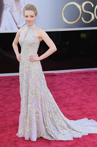Amanda Seyfried at the 2013 Oscars