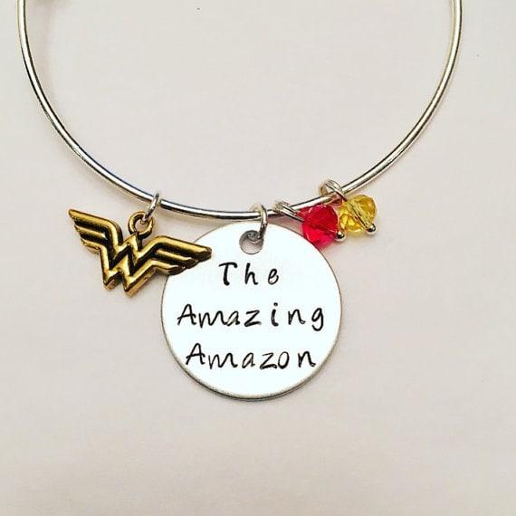 The Amazing Amazon necklace - wonder woman jewelry