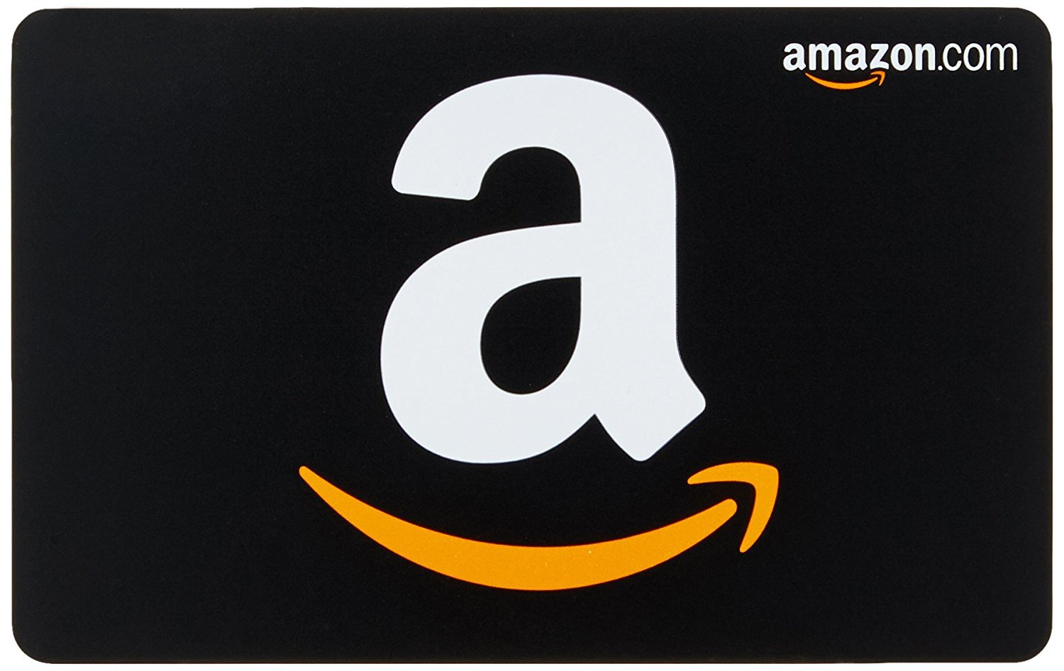 Photo of an Amazon gift card.