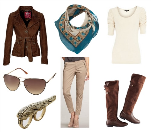 Amelia Earhart Inspired Outfit 1