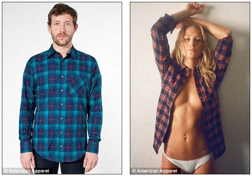 American apparel copy
