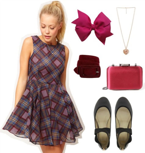 Fashion inspired by American Girl doll Samantha - outfit 1