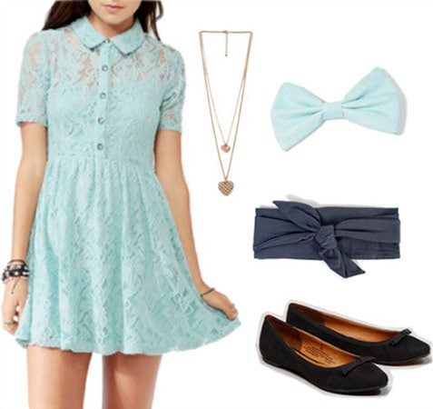 Fashion inspired by American Girl doll Nellie